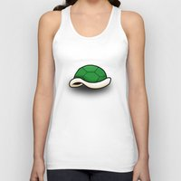 shell Tank Tops featuring Shell. by Matheus Lopes
