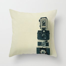 Camera Love Throw Pillow