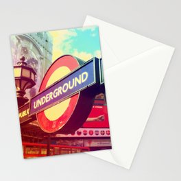 Piccadilly Underground Stationery Cards