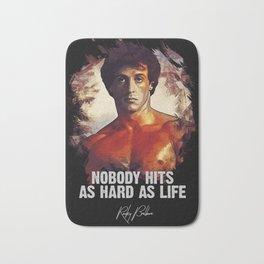 Rocky Balboa - Sylvester Stallone Bath Mat