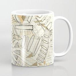 City Neutral: abstract geometric drawing Coffee Mug