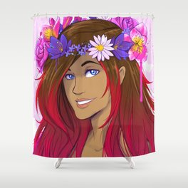 Crown of Flowers 1 Shower Curtain