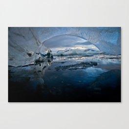 Ice Roof Canvas Print