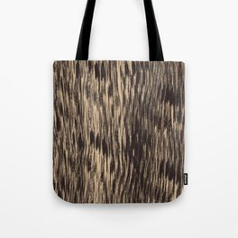 Black and white Fitzgerald Tote Bag