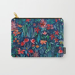 Tropical Ink - a watercolor garden Carry-All Pouch