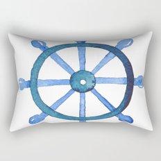 Navigating the seas Rectangular Pillow