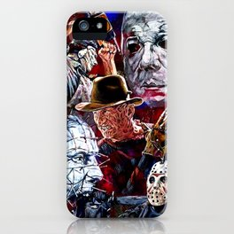 Most Popular Vintage Horror iPhone Case