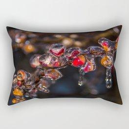Icy Glaze Rectangular Pillow