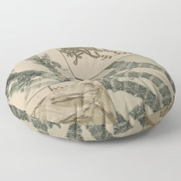 Patterns In Nature Floor Pillow