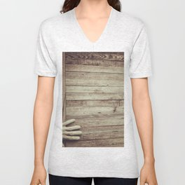 Knock on Wood Unisex V-Neck