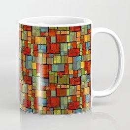 Stained Glass Geometric Pattern Coffee Mug