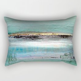 Baie de Somme Rectangular Pillow