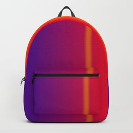 orange verticals Backpack
