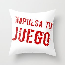Impulsa tu juego Throw Pillow