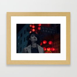 Chinatown Noir Framed Art Print