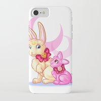 sailormoon iPhone & iPod Cases featuring Moon Rabbits by Becky Hopkins