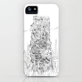 Prince Rupert's Shoe Tree iPhone Case