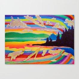 Picnic Point Canvas Print
