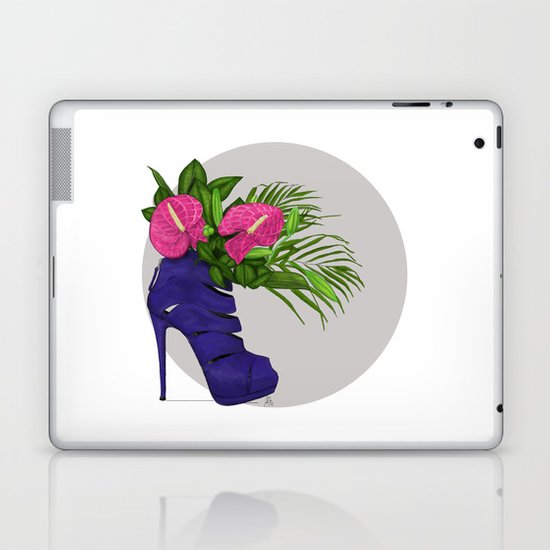 Thank you for flowers Laptop & iPad Skin