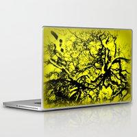 inner demons Laptop & iPad Skins featuring Demons  by Eve Penman