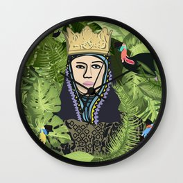 """Isabel """"Kings hide in the jungle"""" Wall Clock"""