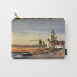 Point Betsie Lighthouse at Sunset Carry-All Pouch