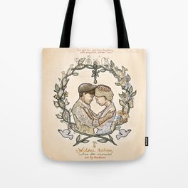 """Illustration from the video of the song by Wilder Adkins, """"When I'm Married"""" Tote Bag"""
