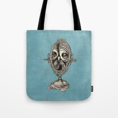 Owl Mirror Tote Bag