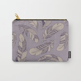 Ruffle my Feathers Carry-All Pouch