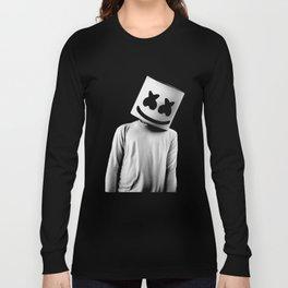 MARSHMELLO Black Long Sleeve T-shirt
