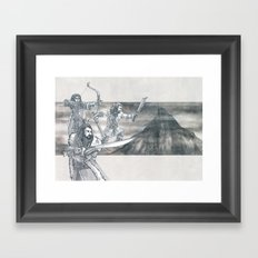 Heirs of Durin Framed Art Print