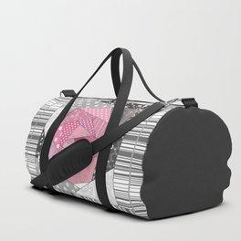 Needlework 1 . Patchwork. Roses. Duffle Bag