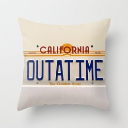 California Out A Time Throw Pillow