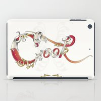 cook iPad Cases featuring Cook  by Ketina