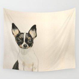 Chihuahua - the tiny dog Wall Tapestry
