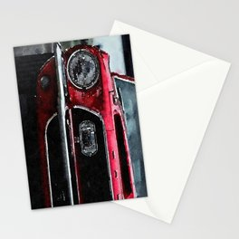 Fast Car Stationery Cards