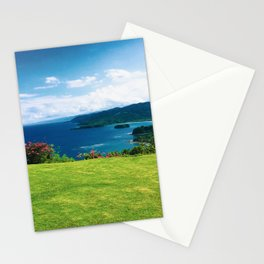 Color photo of Firefly view in Ocho Rios, Jamaica by Larry Simpson Stationery Cards