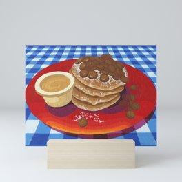 Pancakes Week 4 Mini Art Print