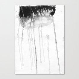 Rain etude Canvas Print