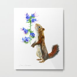 Take Time To Smell The Flowers by Teresa Thompson Metal Print