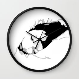 Sleeping  Wall Clock