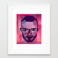 jesse pinkman Framed Art Prints featuring Jesse Pinkman by George Wylesol