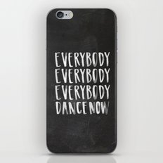 Everybody Dance Now Chalkboard iPhone & iPod Skin
