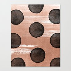 rose gold #2 Canvas Print
