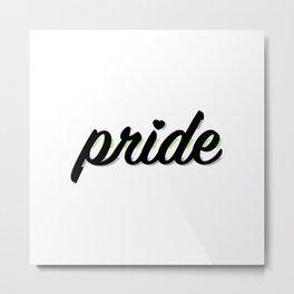 Agender Pride Metal Print