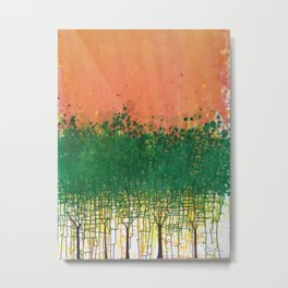 Forest for the Trees 2010 Metal Print