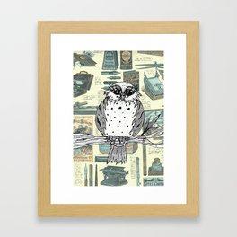 Dotty the Owl 3 Framed Art Print