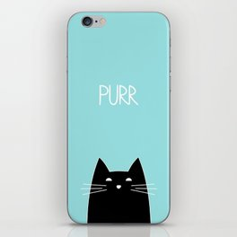 Purr iPhone Skin