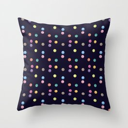 Bubble pattern 1 Throw Pillow