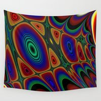 quilt Wall Tapestries featuring Fractal Quilt by Warwick Wonder Works